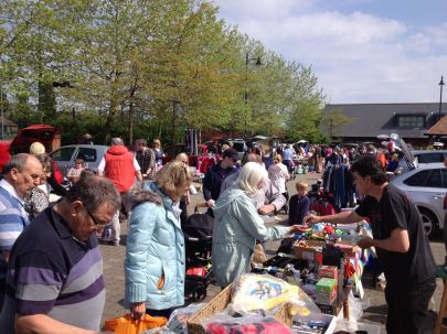 Fleet Lions Car Boot Sale