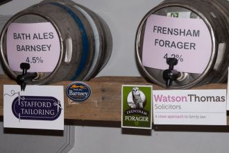 Some of our barrel sponsors